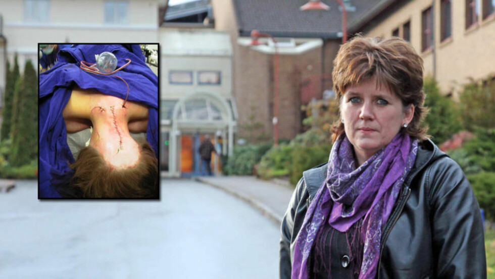 KJEMPER I RETTEN: Liv Oddhild Lyng (49) mener behandlingen hun fikk på sykehuset ødela helsa. Nå kjemper hun mot staten i retten. Foto: Privat/Stig Høynes