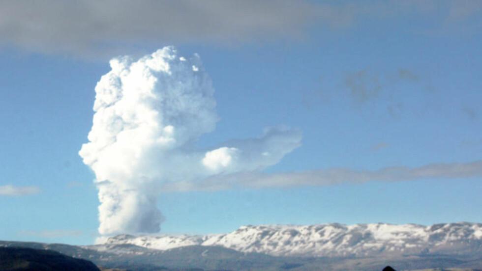 NY ASKEKRISE: Vulkanutbrudddet fra Grimsvötn har skapt problemer for islandske bønder og flypassasjerer. Nå kan også Norge rammes. Foto: Örlugur Sigurjónsson