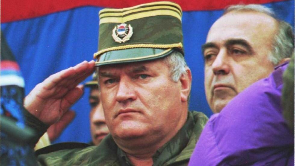 En person som antas å være krigsforbryter Ratko Mladic skal være pågrepet. Foto: REUTERS/SCANPIX