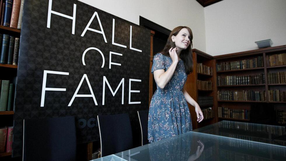 - SMERTE: Marit Larsen er leder for nominasjonskomiteen for «Rockheim Hall of Fame». Hun måtte selv gi slipp på noen artister hun veldig gjerne ville hatt med på listar.  Foto: Bjørn Langsem/Dagbladet.