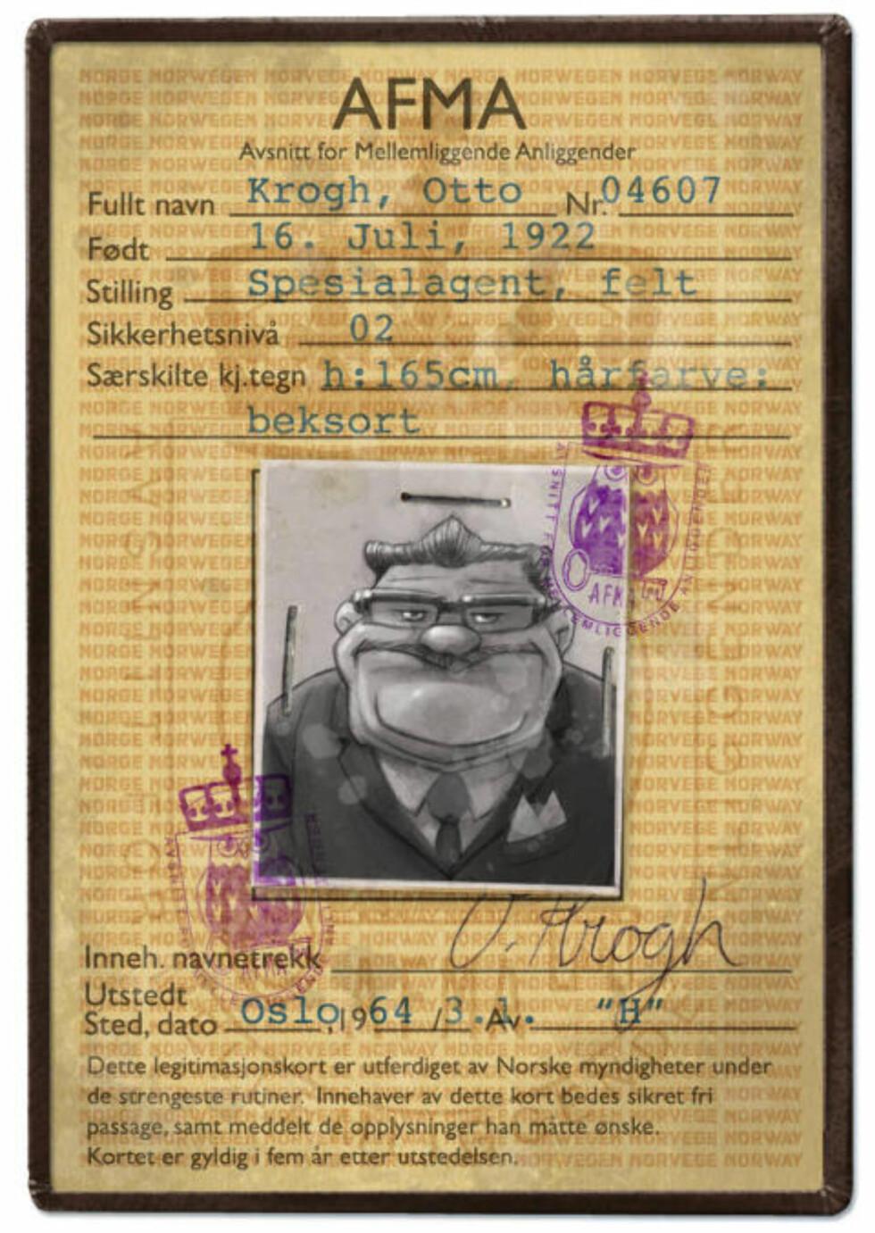 «VETERANEN»: Otto Krogh er en gammel venn av «Høvdingen», begge to har bakgrunn fra motstandskampen under krigen. Han er en «klassisk streber», som ikke er kommet så mye lenger enn Krüger i karrieren til tross for at han nærmer seg pensjonsalderen. Opptatt av at ting skal skje etter boka.