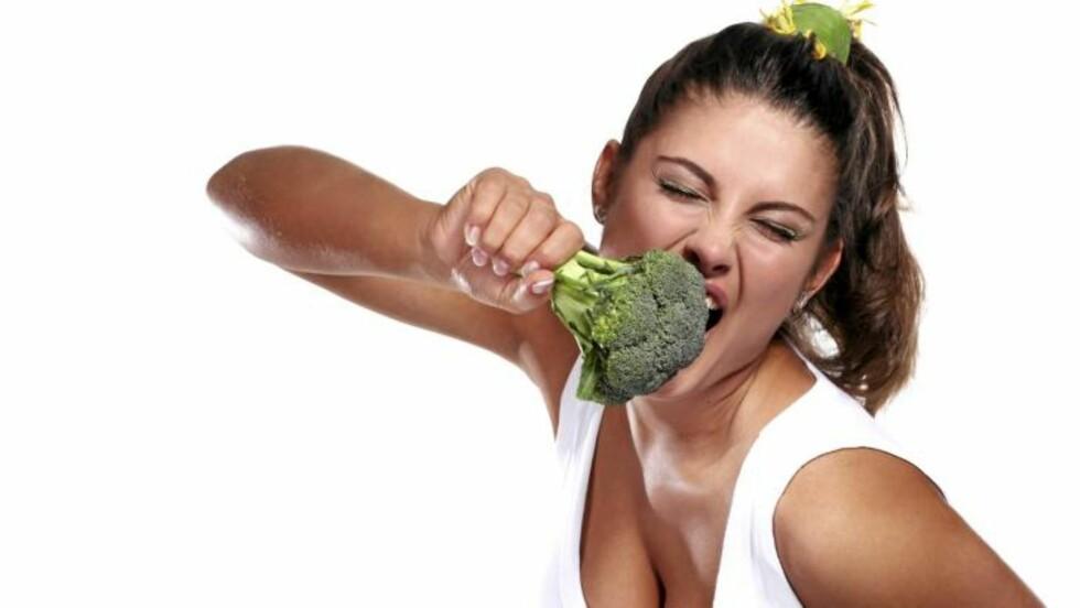 KJØR PÅ: Det er ingen grunn til å spare på grønnsakene. De er en viktig kilde til viktige vitaminer og mineraler Illustrasjonsfoto: www.colourbox.com