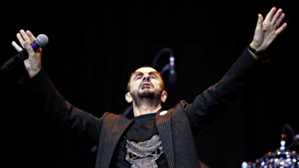 ELSKET: «How many people love me?», spurte Ringo Starr i Frognerbadet. Det viste seg å være mange. Foto: Nina Hansen / Dagbladet