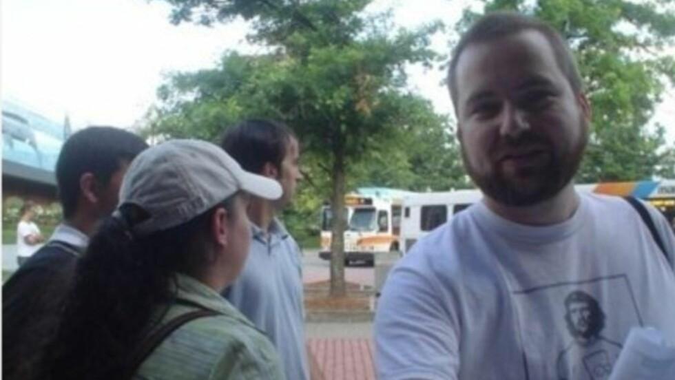 LURENDREIER: Tom MacMaster (40) vedgår at han utga seg for å være en lesbisk blogger fra Syria. Foto: FACEBOOK