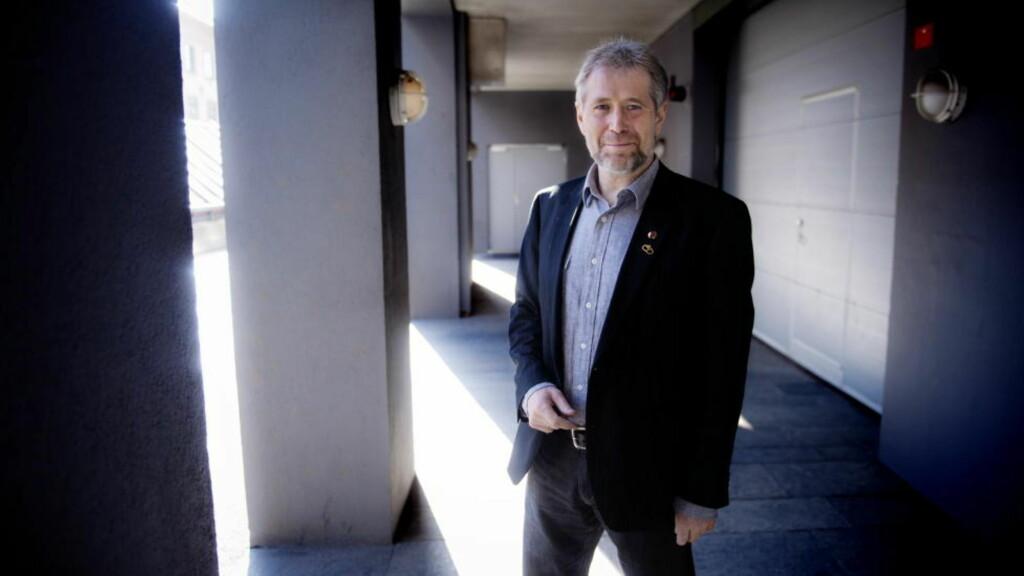 VIL HA GODKJENNING: Leder i Politiets Fellesorganisasjon Arne Johannesen. Foto: Therese Alice Sanne