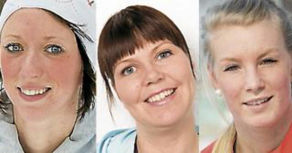 TESTPANELET: F.v. Siri Grude, Thale Berg Husby og Caroline Strand Bøe. Foto: Anne Elisabeth Næss