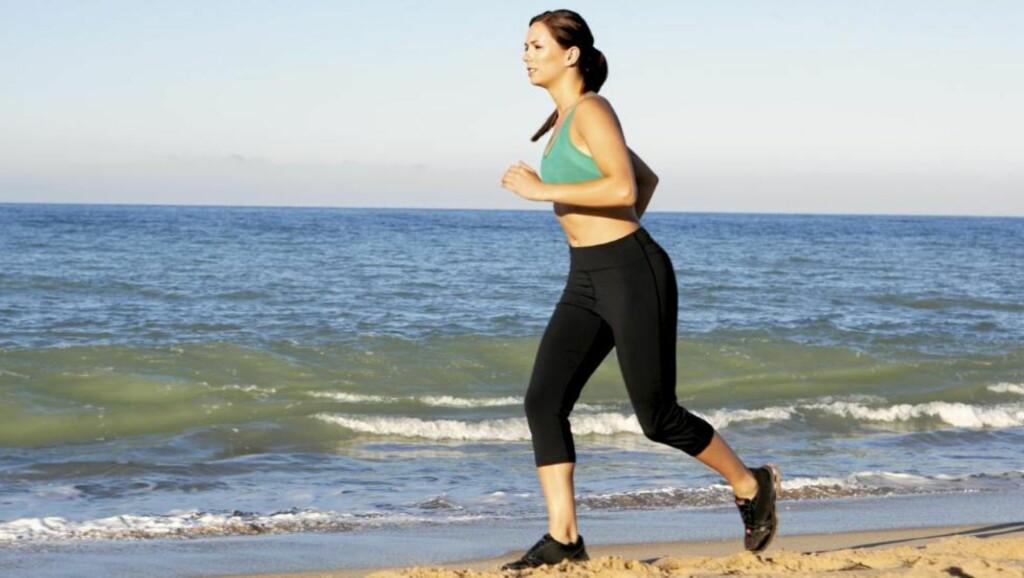 TIGHTS: En deilig løpetights er påkrevd om du skal nyte treningsturen maksimalt.  Illustrasjonsfoto: www.colourbox.com