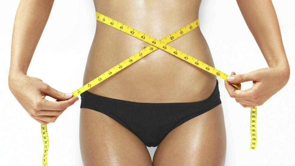 SLANKEMYTER: Savner du framgang på vekta? Kanskje slanker du deg helt feil. Illustrasjonsfoto: Colourbox.com