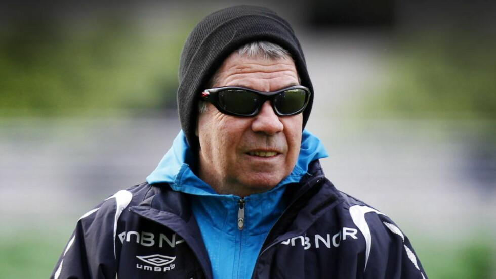 EN ORIGINAL: Drillo hadde riktignok José Mourinho på førsteplass, men var alene om å stemme på Montenegros Kranjcar og Finlands Stuart Baxter som nummer to og tre.  Foto: Erlend Aas / Scanpix