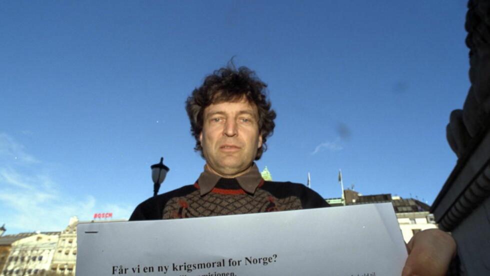 SKAMFULL:  - Aksjonen mot Maria Amelie gjør meg skamfull når vi feirer verdens første høykommisær for flyktninger, Fridtjof Nansen, sier rektor ved Nansen-skolen, Dag Hareide. ARKIVFOTO: DAGBLADET.