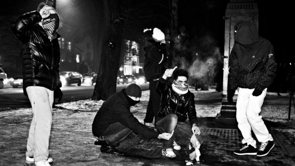 VOLDELIGE DEMONSTRASJONER I OSLO: Iforbindelse med Israels krigføring i Gaza årsskiftet 2008/2009 kom det til voldelige demonstrasjoner i Oslo. I noen av demonstrasjonene kom jødehatet til syne. Foto : Sigurd Fandango / Dagbladet