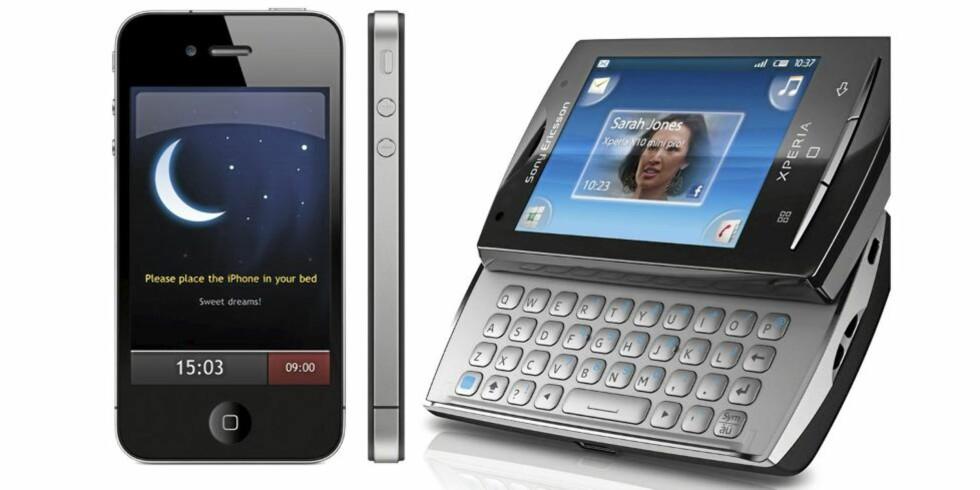 SMARTE TELEFONAPPER: Det finnes en app for alt. Her er noen som bidrar i hverdagen. FOTO: Produsent