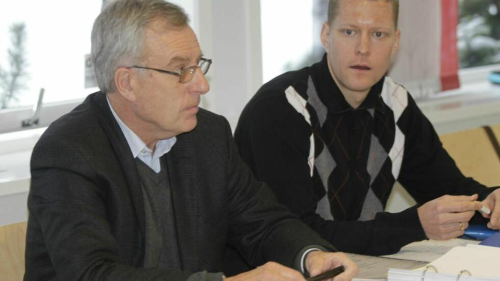 PÅSTAND OM TO ÅR: Påtalenemnda i Antidoping Norge har lagt ned påstand om to års utestengelse for den dopingtatte kappgjengeren Erik Tysse (th). Foto: Morten Holm / SCANPIX