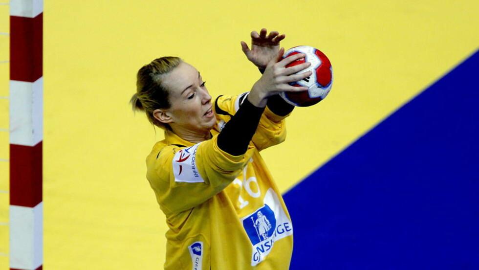 HEDRET: Katrine Lunde Haraldsen er kåret til verdens nest beste håndballspiller. Foto: Bjørn Langsem / Dagbladet.
