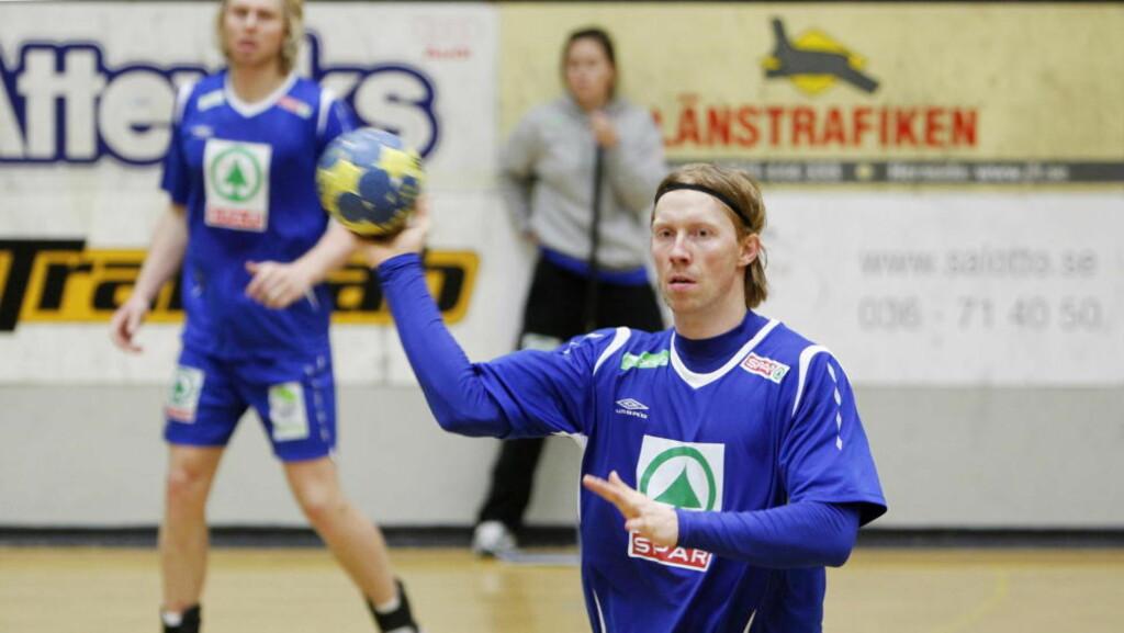 UVANT MOTSTAND: Erlend Mamelund og Børge Lund er forberedt på å møte en motstander i kveld som ikke spiller slik de er vant til. Foto: HÅKON MOSVOLD LARSEN/SCANPIX
