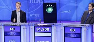 Her banker datamaskinen Watson verdens dyktigste Jeopardy-spiller