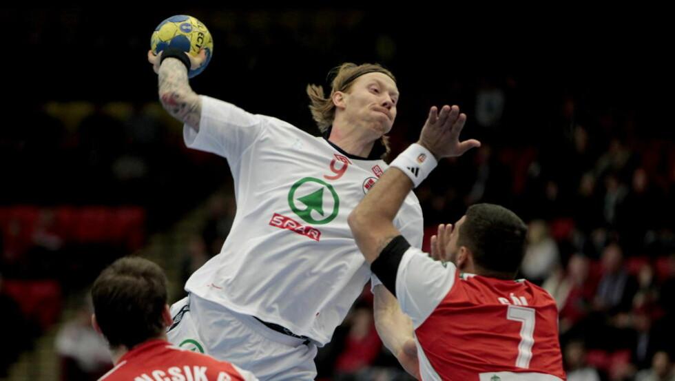 ANGREPSTRYGGHET: Børge Lund har større trygghet i angrep nå, siden han også spiller framover i klubblaget.