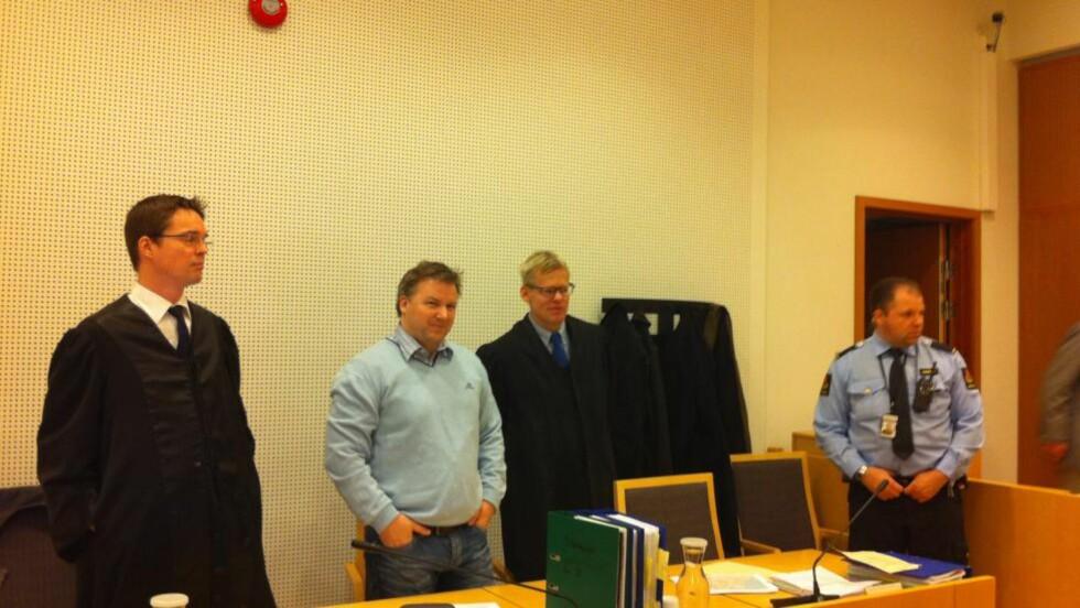 NEKTET STRAFFSKYLD: Stig Millehaugen (41) nektet for straffskyld i retten i dag. Foto: Jonas Sverrisson Rasch