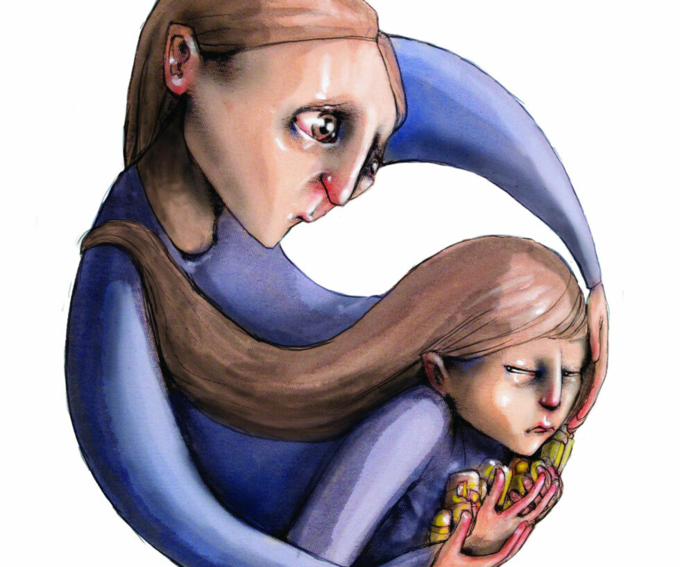 Familieterapeut Jesper Juul svarer hver lørdag på lesernes spørsmål om familieliv, barneoppdragelse, parforhold. Er du mamma, pappa, kjæreste ung eller barn og har du spørsmål send det til: jesper.juul@dagbladet.no. Illustrasjon: Lisa Aisato