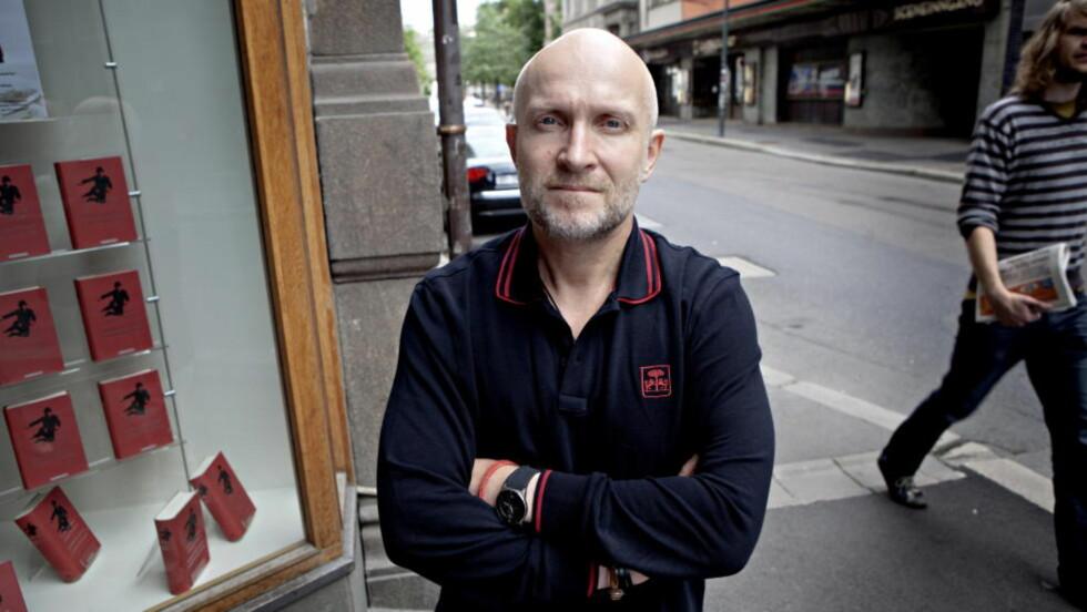 INNFRIR IKKE HELT: Lars Saabye Christensens nye bok har et større potensial. Foto: Lars Eivind Bones / Dagbladet