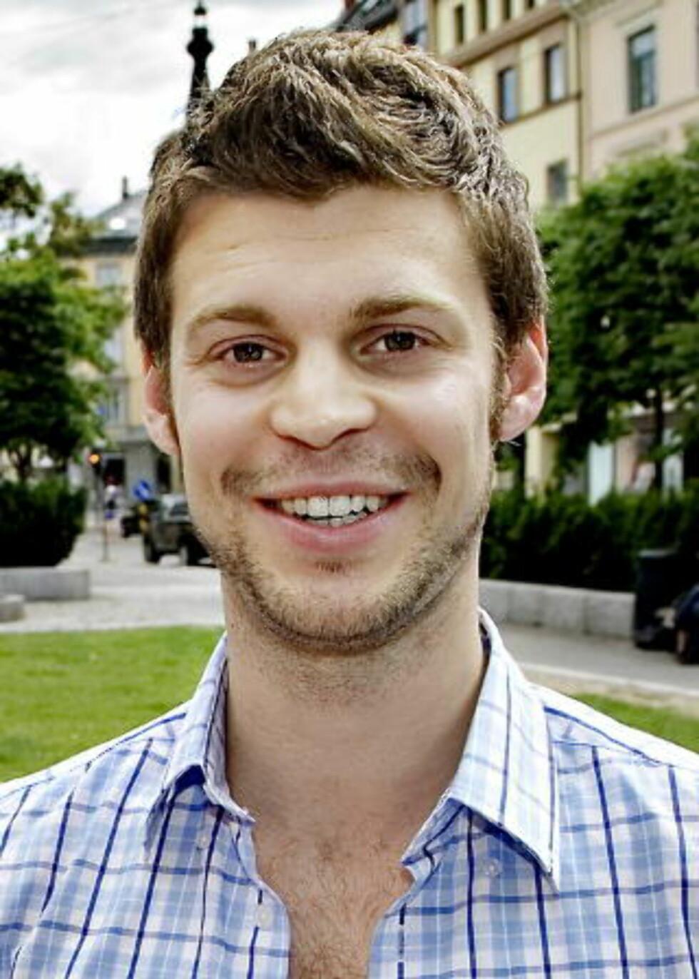 REAGERER: Bjørnar Moxnes, gruppelseder for Rødt i bystyret i Oslo. Foto: Lars Eivind Bones