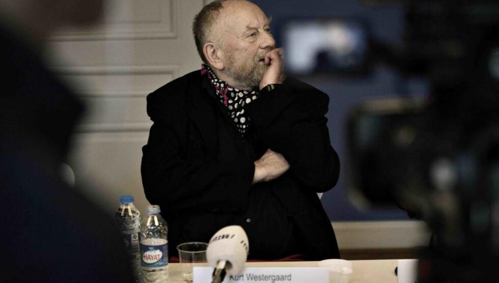RETTSSAK STARTET I DAG:  Rettssaken mot mannen (29) som er siktet for drapsforsøk og terror etter angrepet på tegneren Kurt Westergaard, startet i Århus i dag. Foto: AP Photo