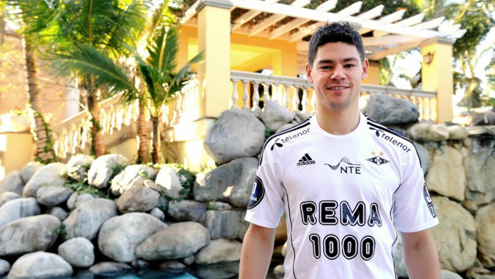 SNART KLAR: Daniel Fredheim Holm er endelig klar for Rosenborg, og snart også klar for å bidra for fullt på banen.Foto: RBK.NO