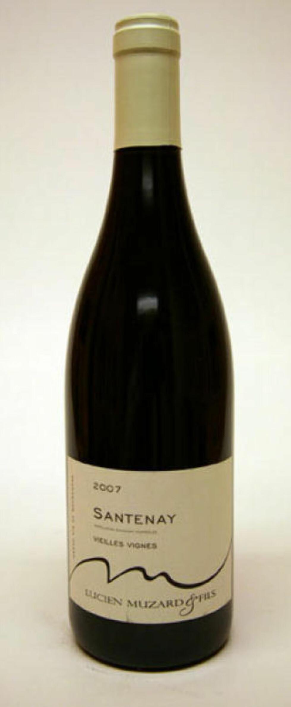 PRISGUNSTIG: Burgunderen Santenay Vieilles Vignes 2008 får en femmer.