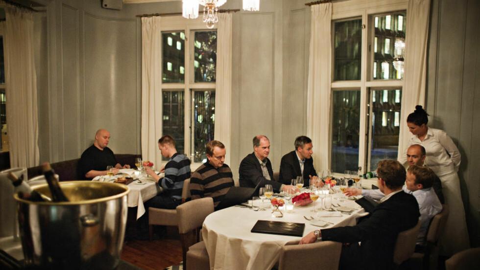 Robinson og Fredag har besøkt restaurant Ylajali. Foto: Jo Straube