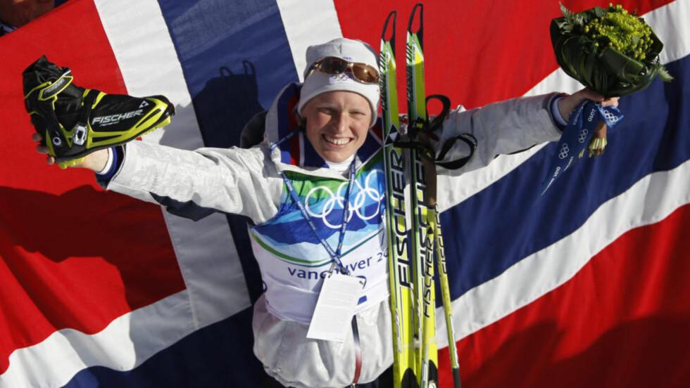 Best igjen: Tora Berger nok en gang best i et verdenscupløp. Foto: REUTERS/Pawel Kopczynski (CANADA)
