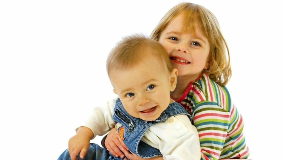 VAKREST? En undersøkelse Foreldre & Barn har gjort, viser at foreldre blant annet synes egne barn er over gjennomsnittet vakre.  FOTO: Istockphoto.com