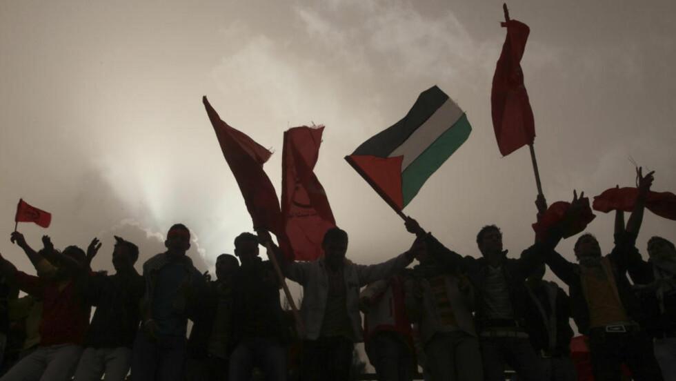 - SVIKTET: De fleste palestinerne vil føle seg stort sviktet etter avsløringer om at palestinske ledere skal ha vært svake og desperate, mener norske Midtøsten-eksperter. Foto: Reurets/Suhaib Salem/Scanpix