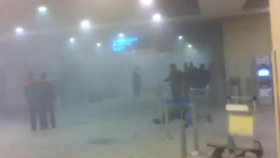 - OVER 30 DREPT: En selvmordsbomber har rammet Russlands største flyplass.