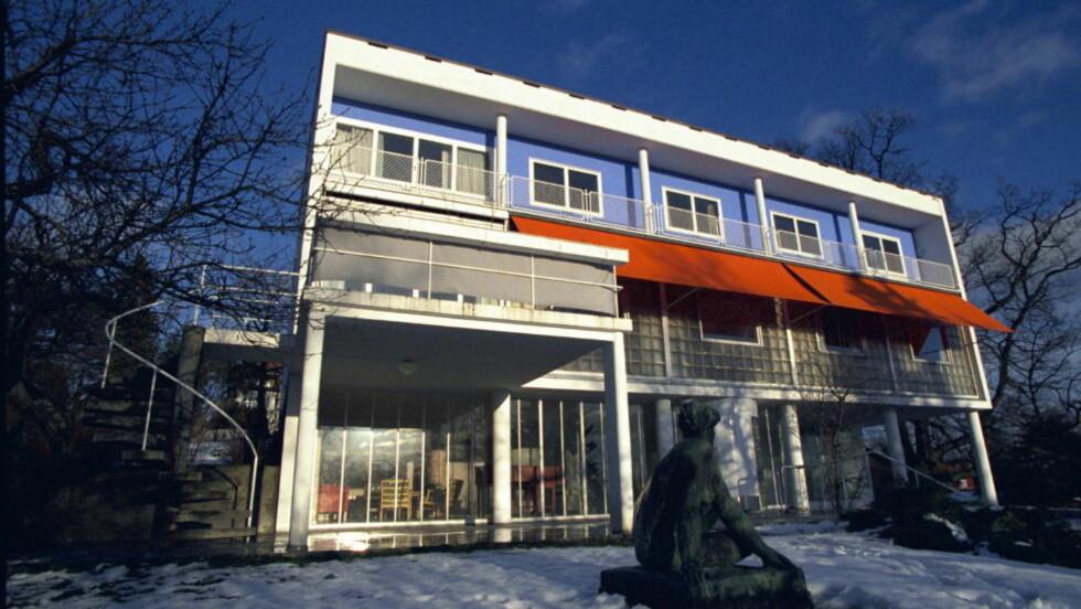 FUNKIS: Villa Stenersen fra 1937 er kanskje Oslos mest kjente funkisvilla. Noen funkisboom kom aldri til Norge, skriver Kjetil Rolness. Foto: TOMM CHRISTIANSEN