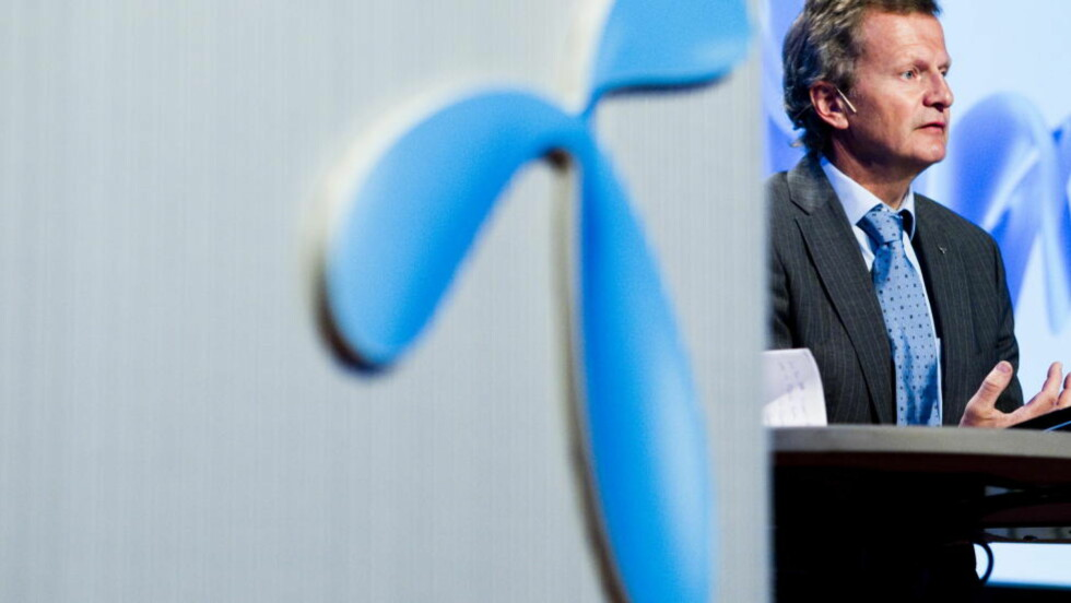 TIL SAK: Konserndirektør Jon Fredrik Baksaas og Telenor anlegger voldgiftssak mot VimpelCom og konsernets største eier for å hindre oppkjøp av Wind Telecom. Foto: Scanpix