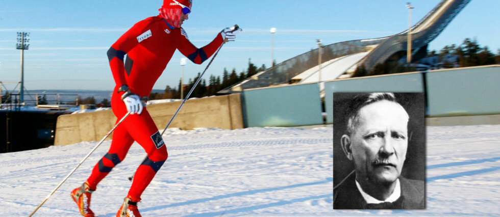 Om 20 dager heier det norske folket fram Petter Northug i Kollen. Noe ski-VM hadde det ikke blitt arrangert uten Sondre Norheim, den moderne skisportens far. Foto: SCANPIX