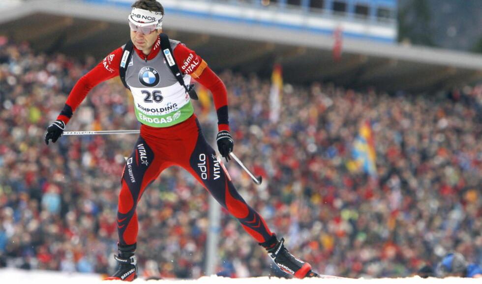 STÅR OVER RENN: Ole Einar Bjørndalen står over verdenscupløp i USA for å fokusere fullt på VM i Khanty-Mansiysk. Foto: Heiko Junge, Scanpix