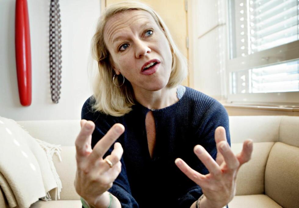 SLÅR AV: I dag legger kulturminister Anniken Huitfeldt fram stortingsmeldingen som skal avgjøre FM-båndets framtid. Den ser ikke lys ut. Foto: Lars Eivind Bones / Dagbladet
