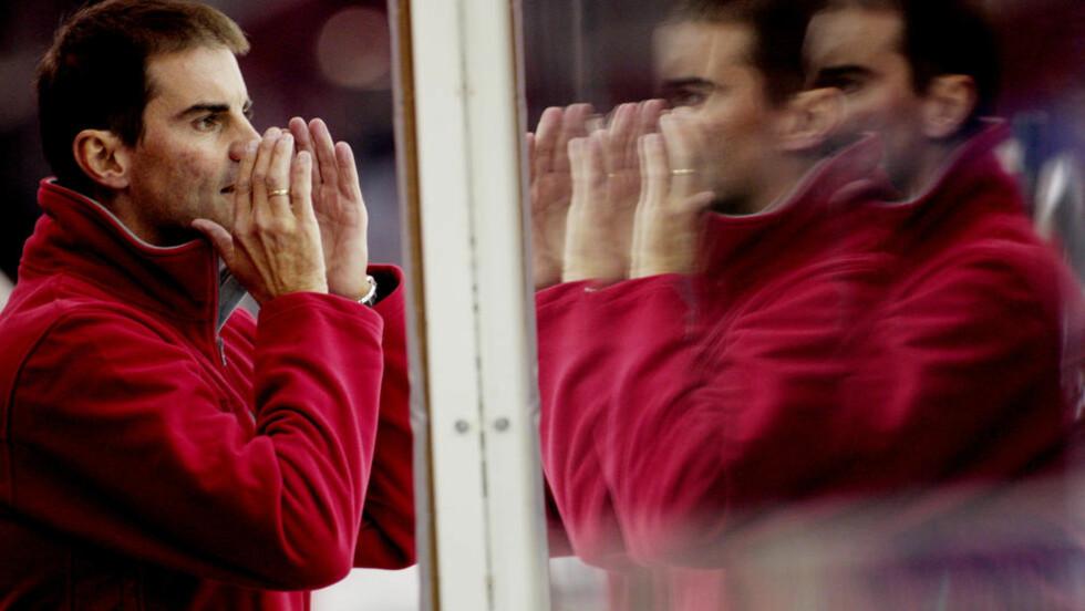 - DU HAR SPARKEN, ANDERSEN! Morgan Andersen skal fortsette som sportssjef i Stjernen. Men han kan snart bli erstattet som trener. Foto: Stian Lysberg Solum, Scanpix
