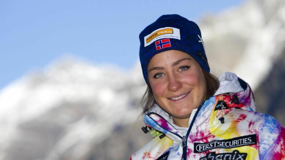 VM-KLAR: Nybakt juniorverdensmester Lotte Smiseth Sejersted er tatt ut til senior-VM i Garmisch-Partenkirchen, som eneste norske kvinne.Foto: Cornelius Poppe / SCANPIX