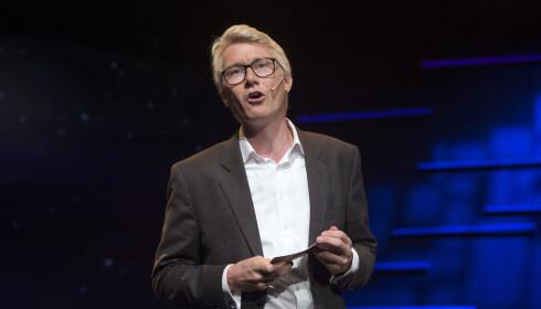 TRAKK LØNNSDIKTAT: Sjefredaktør og administrerende direktør i TV 2, Olav T. Sandnes. Foto: Marit Hommedal / NTB scanpix