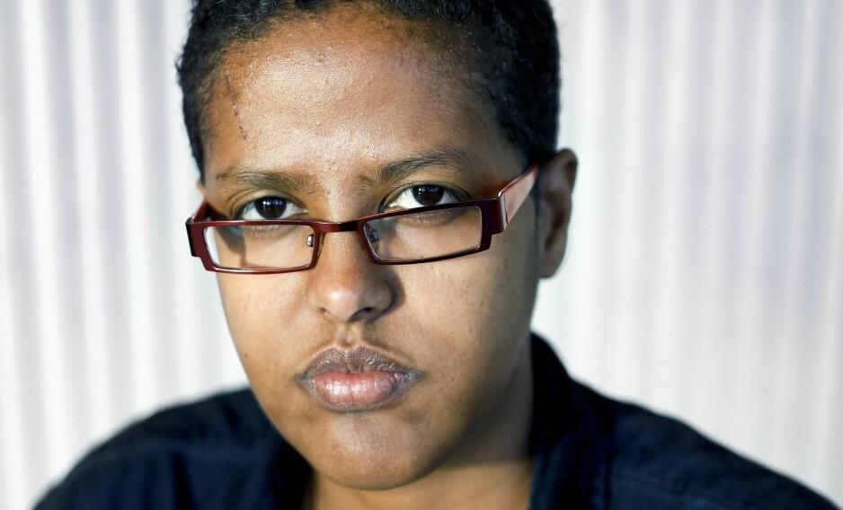 KRITISERT: Samfunnsdebattant og forfatter Amal Aden er blitt hyllet i Utrop mange ganger. Denne gang er påstandene hennes ettergått. Foto: Monica Strømdahl