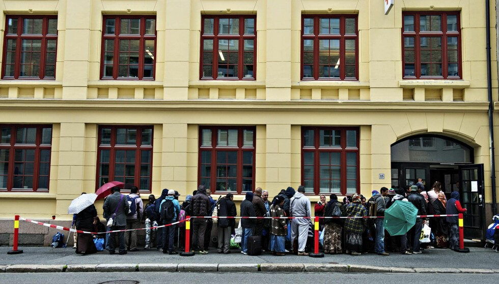 Utfallet: Det foreslåtte trygdesystemet for flyktninger og innvandrere gir opphav til fattigdomsfeller, skriver kronikkforfatterne. Foto: Aleksander Andersen / NTB scanpix