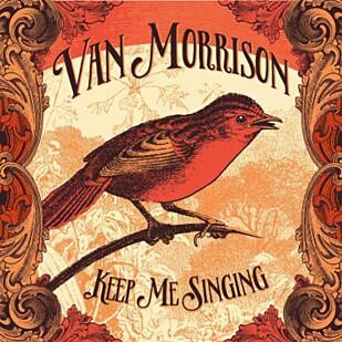 SANGFUGL: Coveret til «Keep Me Singing».