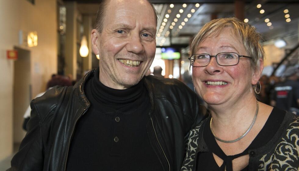 STOLTE OG NERVØSE FORELDRE: Martin og Jorunn Brækhus sprekker nesten av stolthet over hva datteren har utrettet. Men de deler også sin bekymring foran kampen mot Anne Sophie Mathis. Foto: Arne V. Hoem / Dagbladet