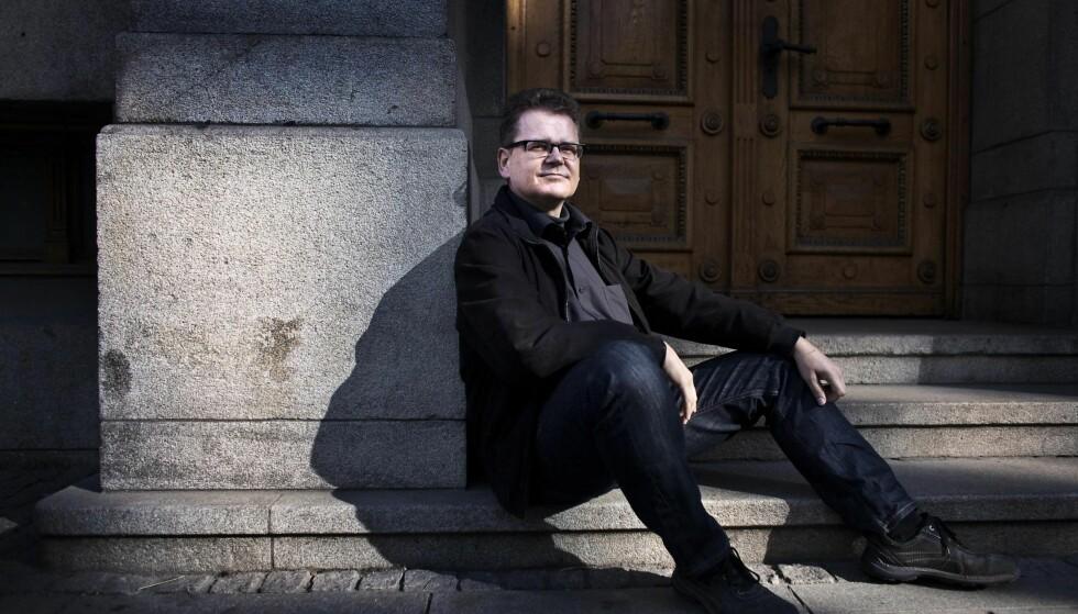 GJENSYN MED GRØNLAND: Den norsk-danske forfatteren Kim Leine fikk Nordisk Råds Litteraturpris for romanen «Profetene i Evighetsfjorden» (2012). Nå er han tilbake med en ny roman fra Grønland.