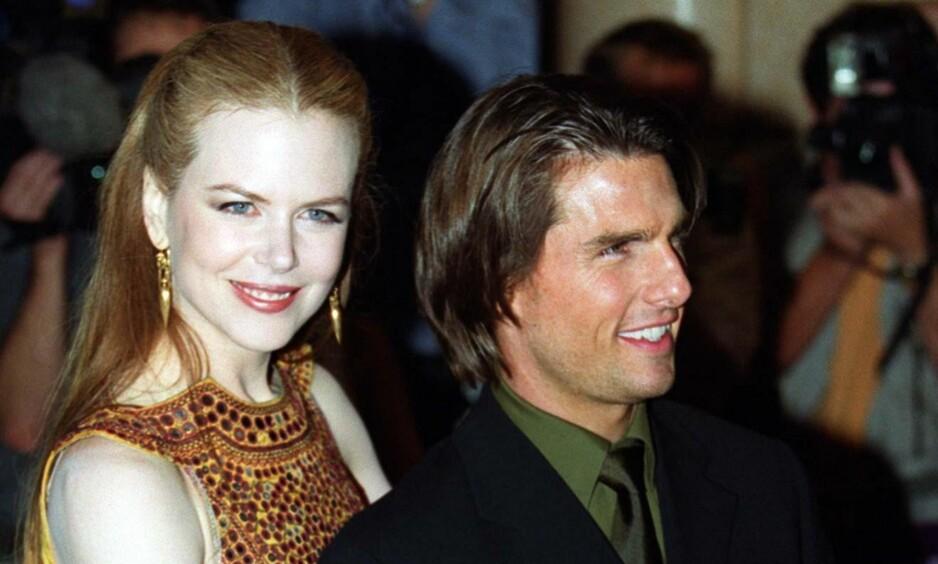 VAR GIFT I 11 ÅR: Nicole Kidman og Tom Cruise var et av Hollywoods mest berømte ektepar fra 1990 til 2001.  Foto: NTB scanpix