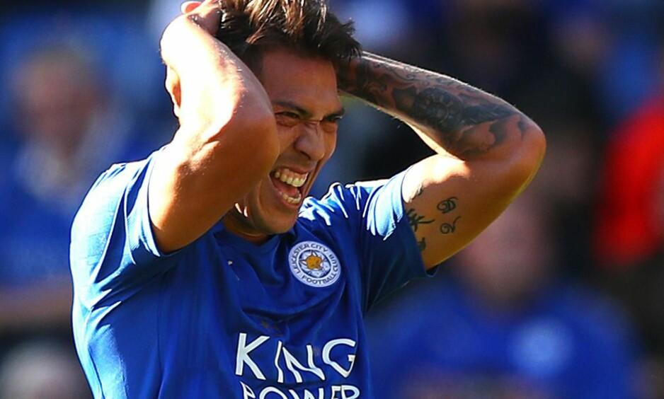 UAVGJORT: Jose Ulloa og Leicester spilte uavgjort mot Southampton. Foto: Kieran McManus/BPI/REX/Shutterstock