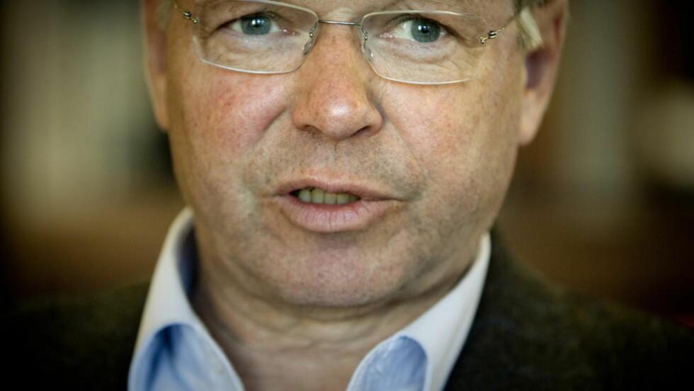 FORHANDLER OM LØSNING: Kjell Magne Bondevik jobber for å få Farouk Abdulhak hjem.  Foto: Bjørn Langsem / Dagbladet.