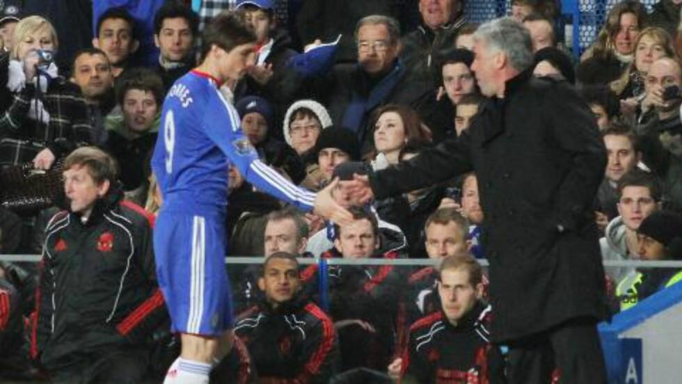 TRENGTE INGEN ANBEFALING? Fernando Torres ble kjøpt av Chelsea uten at noen sjekket spissens referanser, tror Carew. Foto: EPA/GEOFF CADDICK